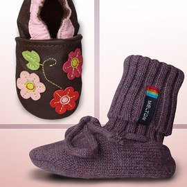 Soft Steps: Infant & Kids' Booties