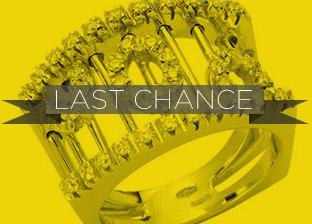 Last Chance Diamond Jewelry Blowout