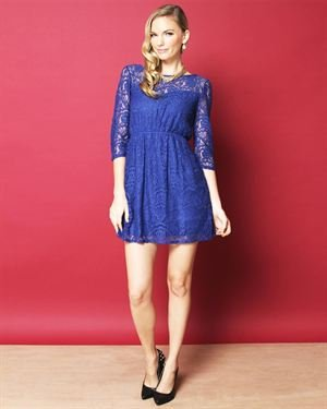 Everly Sweetheart Lace Dress $35