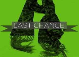 Last Chance Designer Scarves Blowout
