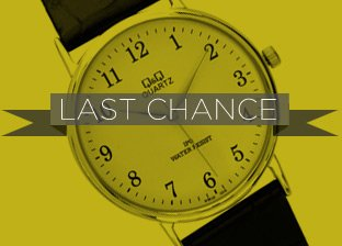 Last Chance Watches Blowout