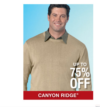 Shop All Canyon Ridge Designer Clearance