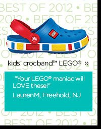 kids' crocband™ LEGO® - Your LEGO® maniac will LOVE these! LaurenM, Freehold, NJ