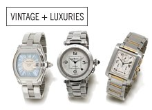 From the Reserve Women's & Men's Cartier Watches