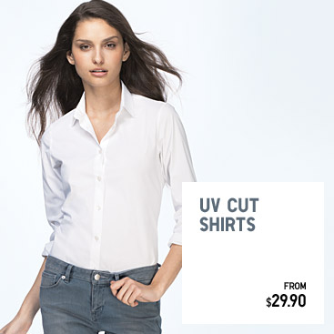 UV CUT SHIRTS