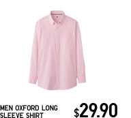 MEN OXFORD LONG SLEEVE SHIRT