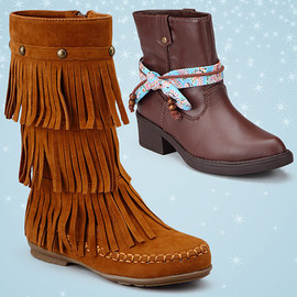 One Step for Fashion: Girls Boots