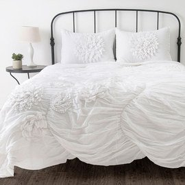 White on White: Bedding & Bath