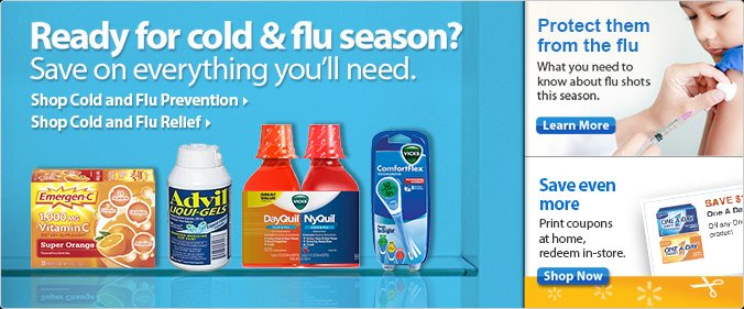 Ready for could & flue season?