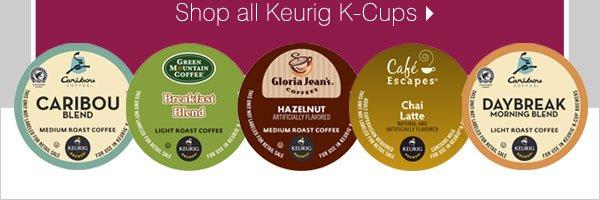 Shop all Keurig K-Cups