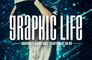 Graphic Life: T-Shirt Sale