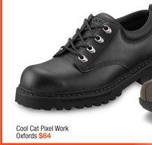 Skechers® Cool Cat Pixel Work Oxfords