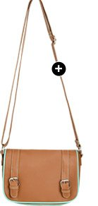 Pop Trim Crossbody Bag