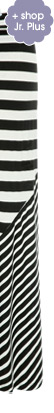 Jr. Plus Mixed Stripe Maxi Skirt