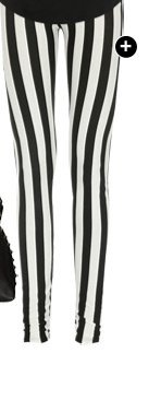 Striped Ankle Length Legging