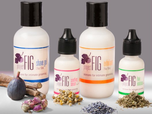Project Fig makes this 4-step kit that buys you a little extra time in between shaves or waxes.