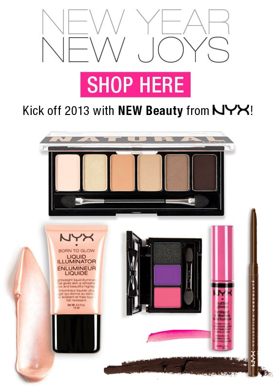 New NYX Products!