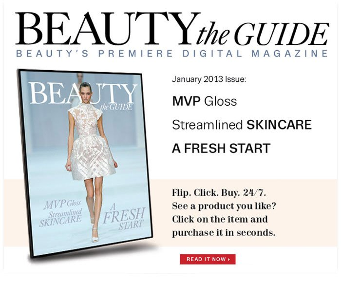 Read our 'Beauty the Guide' now