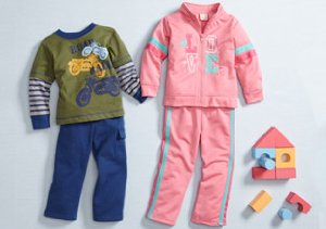 Baby Togs: Playwear Sets for $16