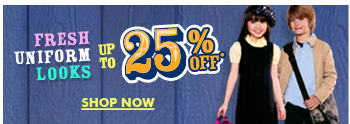 Up To 25% Off Fresh Uniform Looks