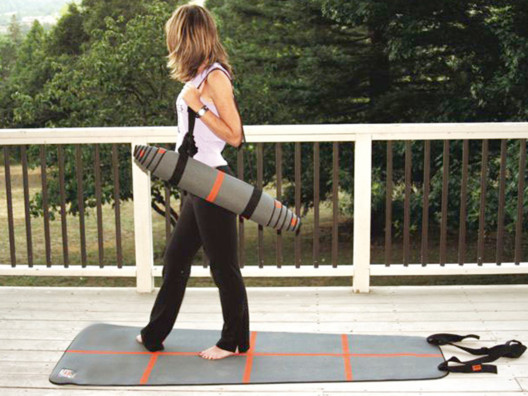 Posture Aligning A-Line Mat from The OpenSky Health & Wellness Shop