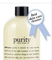 best skin care cleanser - purity made simple one-step facial cleanser...
