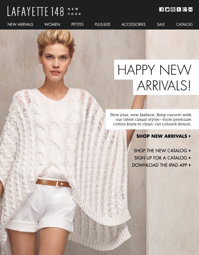 NEW ARRIVALS: The Casual Edition