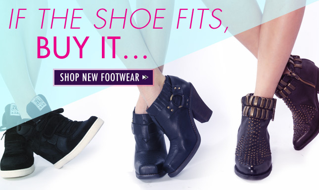 Brand New Footwear on Miss KL. Shop New Styles Now!