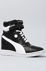 The My-66 Sneaker in Black and White
