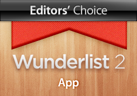 Editors' Choice: Wunderlist - App