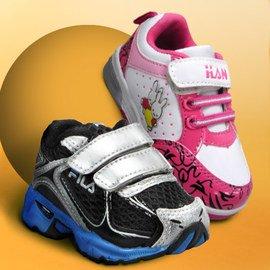 A Running Start: Kids' Shoes