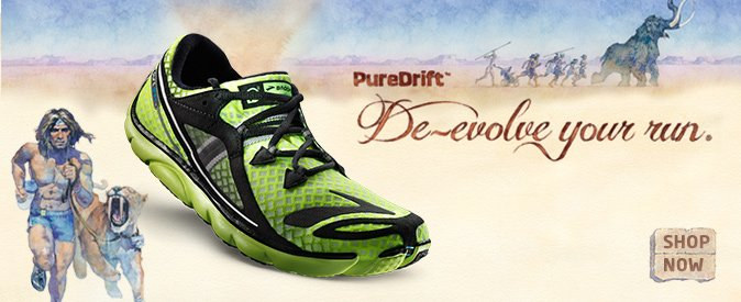 De-evolve your run with the lightweight PureDrift from Brooks