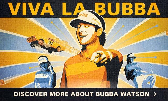 Bubba Watson Joins Oakley Golf