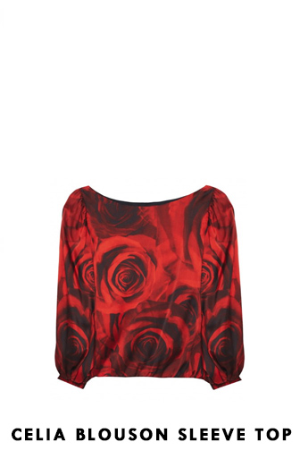Celia Blouson Sleeve Top