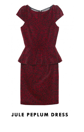 Jule Peplum Dress