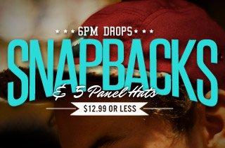 Snapbacks & 5 Panel Hats