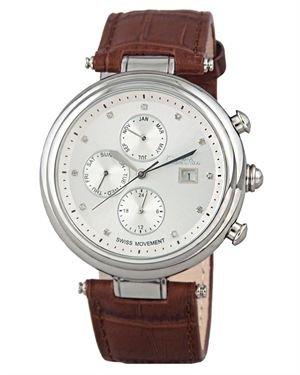 Diamstars Mirage Diamond Embellished Men's Chronograph Watch