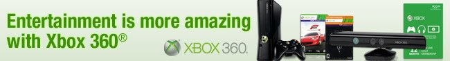 Entertainment is more amazing with Xbox 360.