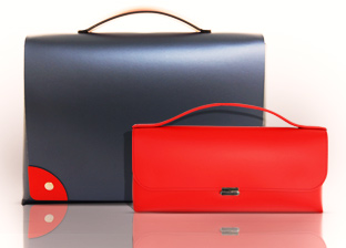 Almarei Office Handbags. Made in Italy
