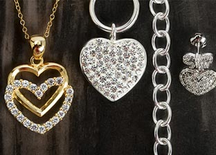 Fall in Love: Heart Style Jewelry