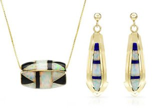 Gold Weekend: Necklaces & Earrings