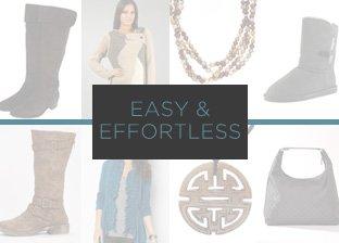 Shop the Trend: Easy & Effortless
