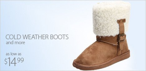 cold weather boots-stock