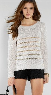 Popcorn Stripe Jumper