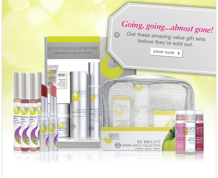 Going, going...almost gone! Get these amazing value gift sets before they're sold out.