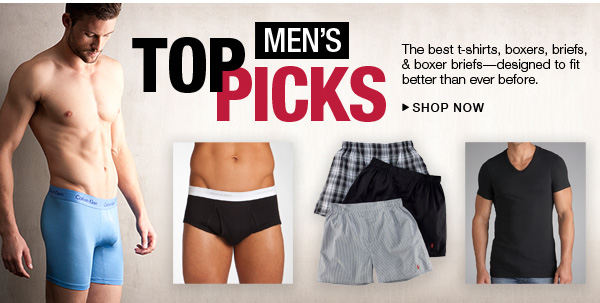 Men's Top Picks