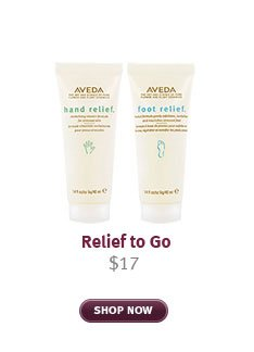 relief to go. shop now.