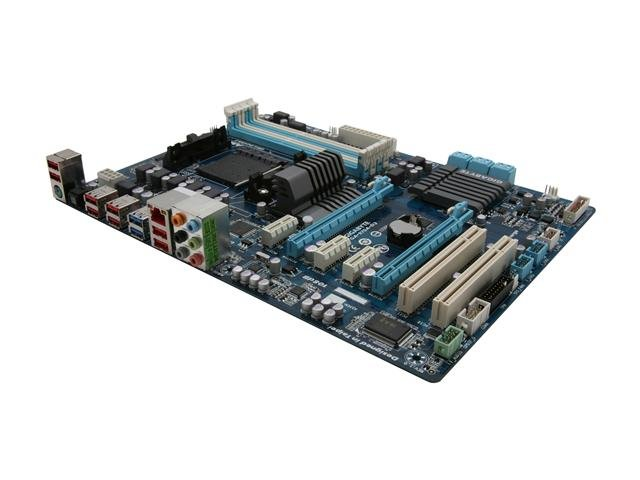 GIGABYTE GA-970A-D3 AM3+ AMD 970 SATA 6Gb/s USB 3.0 ATX AMD Motherboard