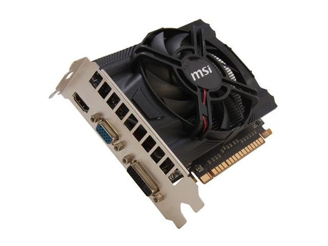 MSI N650-MD1GD5/OC GeForce GTX 650 1GB 128-bit GDDR5 PCI Express 3.0 x16 HDCP Ready Video Card