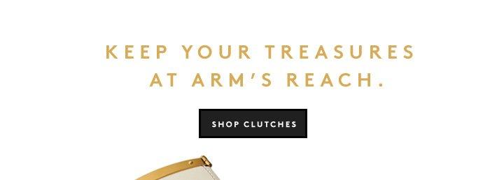 Small bag, big impact: Shop statement clutches.